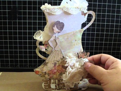 Project Share 3D Tea Cup and Lace Rolls