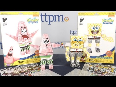 SpongeBob SquarePants Build Your Own Paper Toys from Paper Punk