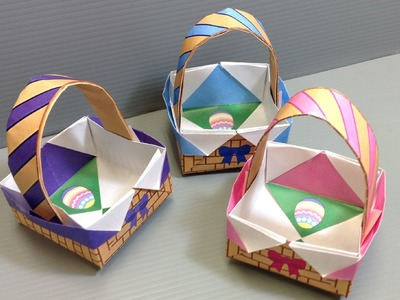 Spring Easter Baskets - Print at Home
