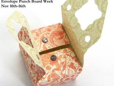 Stampin Up UK ENVELOPE PUNCH BOARD WEEK Sewing Box Style