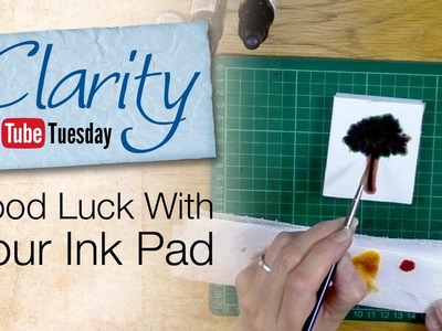 Stamping How To - Good Luck With Your Ink Pad