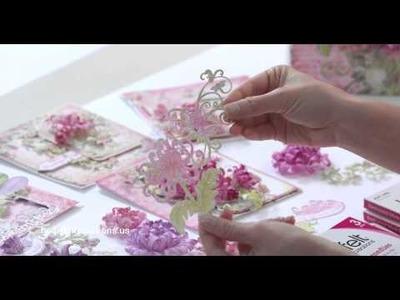 The EZ way to make Heartfelt Creations Enchanted Mums!