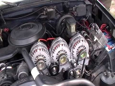 1st 1994 Suburban with 4 AD244 alternator in the world p.2