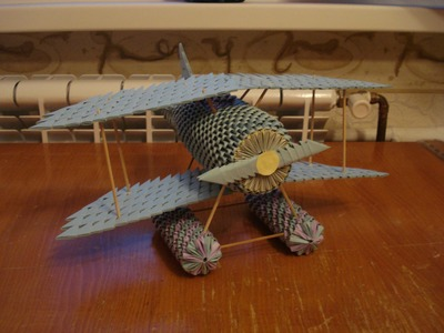 3D Origami Airplane Tutorial - Part 1