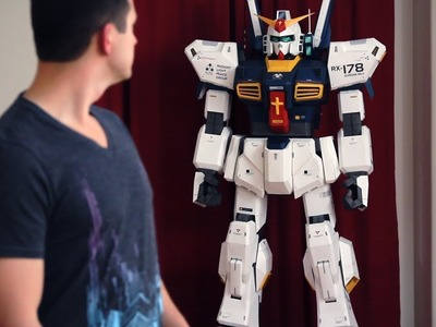"""7FT Gundam"" - Beyond The Paper"