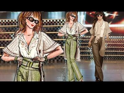 Basic Figure For Fashion Sketch: Advanced Fashion Design Drawing Tutorial