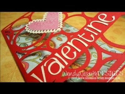 Card Tutorial - Valentine Heart card (part 2 of 2)