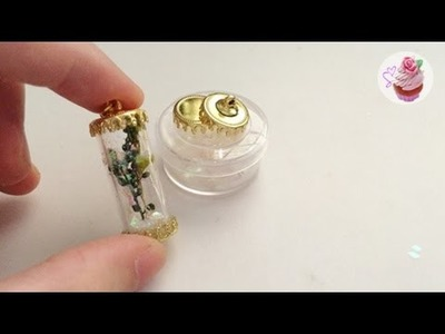 Christmas DIY: Winter forest jar pendant