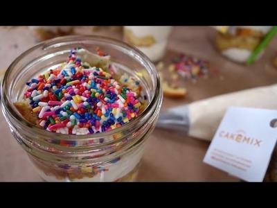 Confetti Cake in a Jar w. Duff Goldman | Just Add Sugar