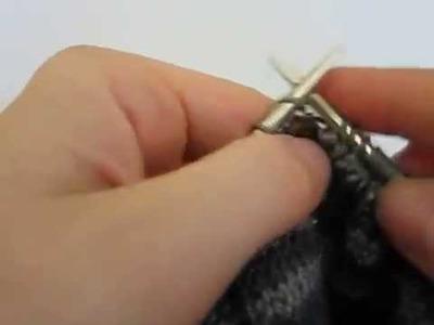 Continental knitting