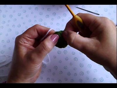 Crafternoon Treats flower free crochet tutorial