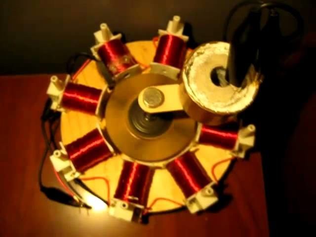 Crystal Cell Magnet Motor.  Running for over two weeks and still going!