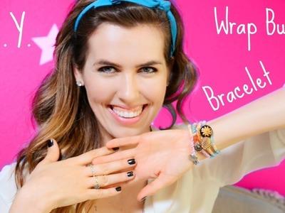 ♥ D.I.Y. ♥ Wrap Button Bracelet!