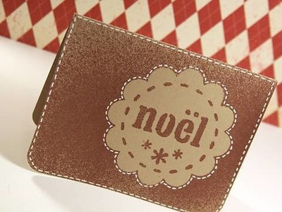 Day 19 - Holiday Card Series - Noël