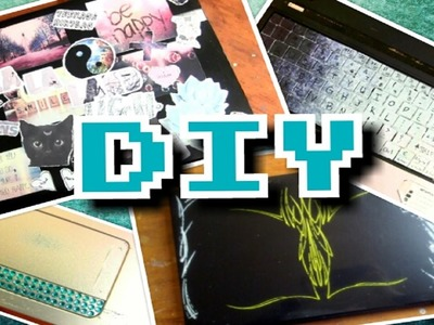 DIY: Decorate Your Laptop 3 Ways- Back To School