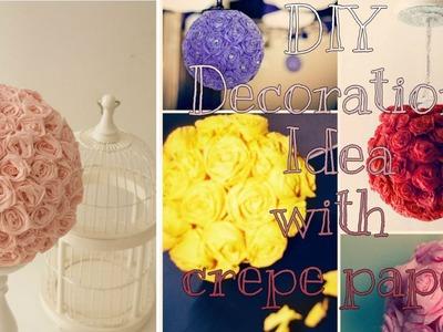 DIY EID Decoration idea with crepe paper   creativeQ