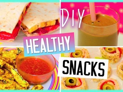 DIY Healthy Snacks! Yummy Treats! Sweet & Savoury