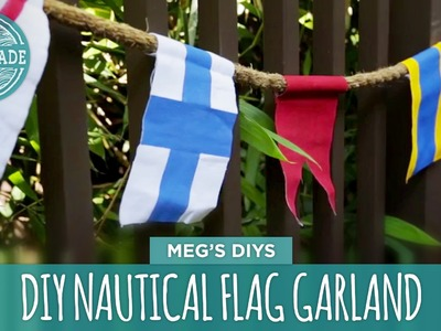 DIY Nautical Flag Garland - HGTV Handmade