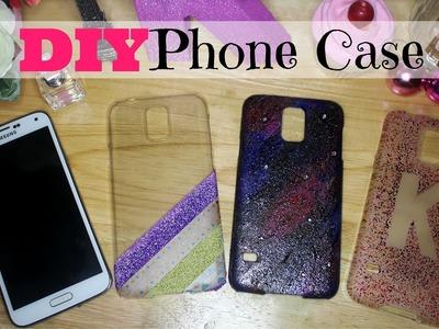 DIY PHONE CASE (Using Washi Tapes, Nail Polish and Color Pens!!) ❤