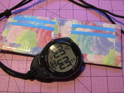 Duct tape Bi-fold Wallet Time Trial!