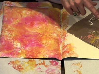 Exploring Tim Holtz's New Distress Paint by Joggles.com