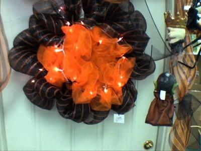 Fall Geo Mesh Decorations