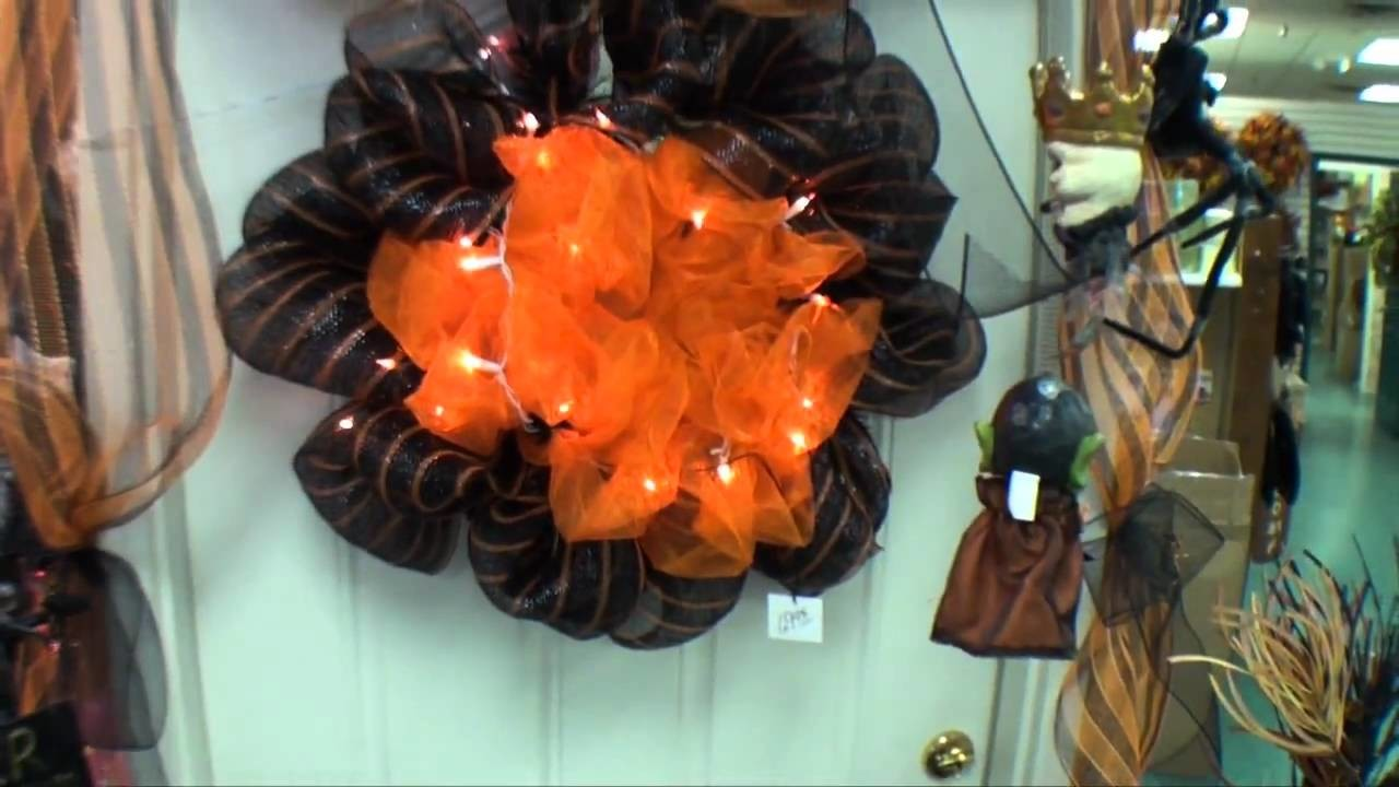 Fall Geo Mesh Decorations