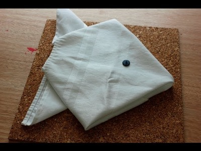 Fish Napkin Folding - Origami for Napkins