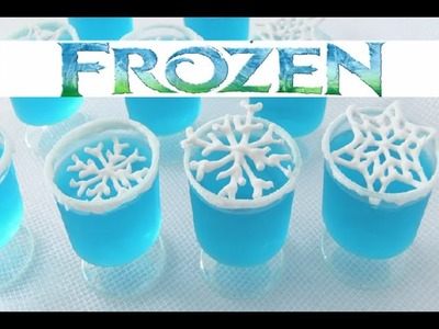 Frozen Fever Party Jelly Snowflakes by How To Cook That, Disney Frozen