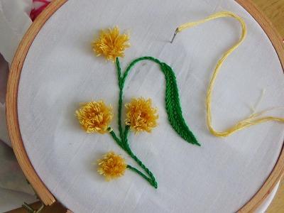 Hand Embroidery: Pom Pom Stitch