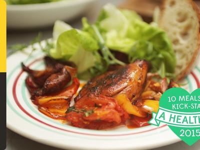 Healthy Traybaked Chicken Thighs | #10HealthyMeals | Kerryann Dunlop
