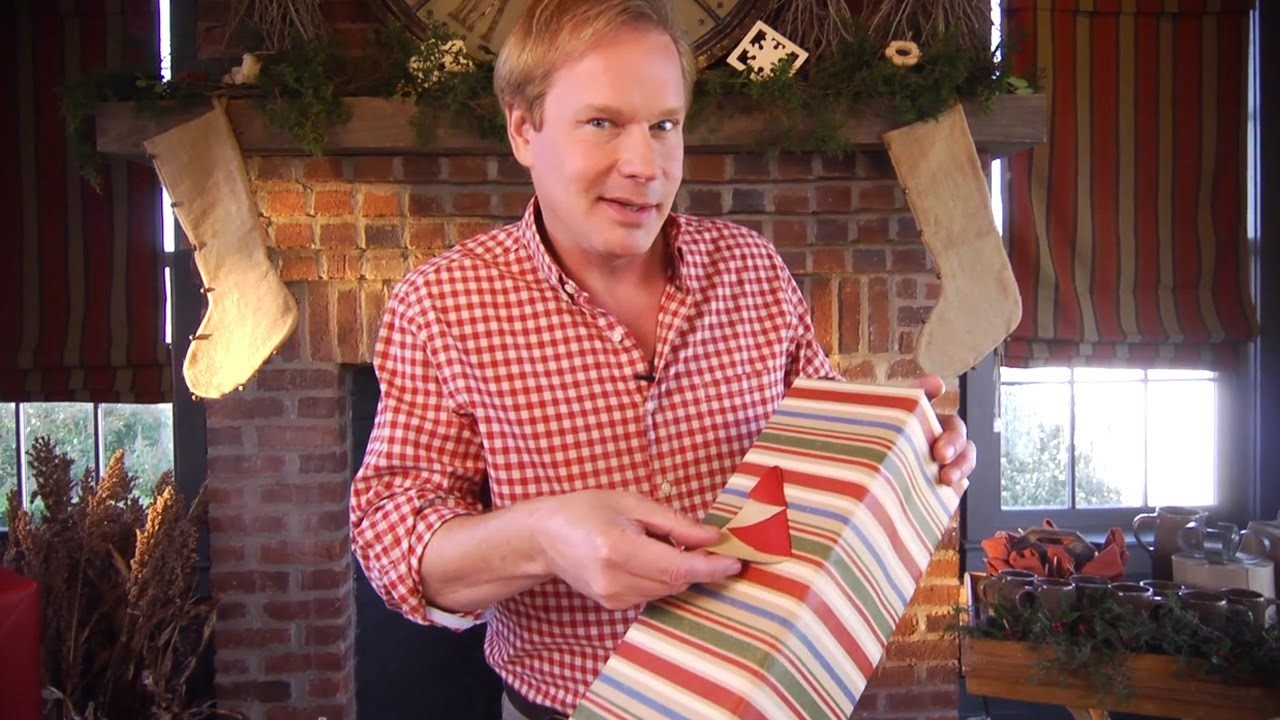 Homemade Holiday Gift Tags | At Home With P. Allen Smith