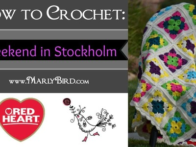 How to Crochet the Weekend in Stockholm Throw