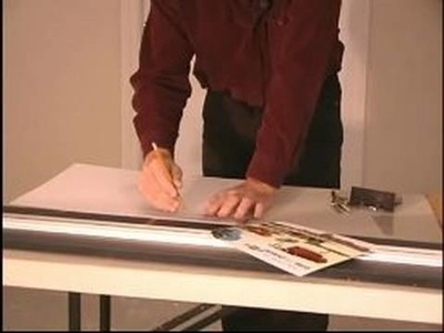 How to Frame and Matte Pictures : More Ways to Measure Prints For Picture Framing