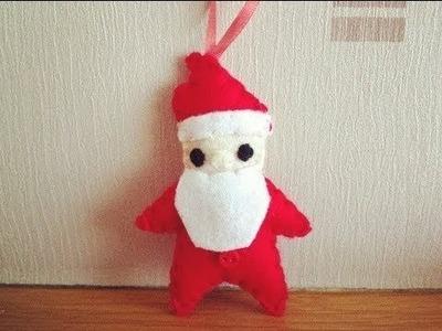 How to Make a Cute Santa Claus Plushie