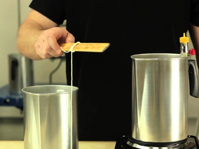 How to Make Candles the Old-Fashioned Way : Basic Candle Making