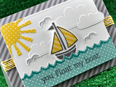 Intro to Float My Boat + a card from start to finish