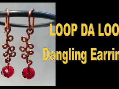 LOOP DA LOOP Dangling Earrings | Liz Kreate