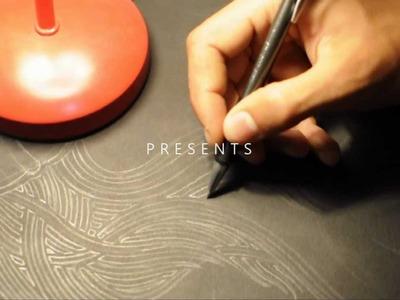 Making of Jellyfish Lampshade - Papercutting Art