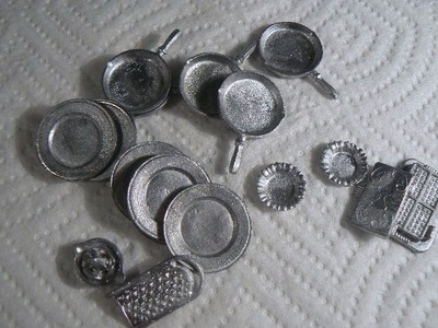 Metal Minis for the Dollhouse