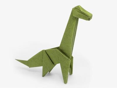 Origami Dinosaur - Brachiosaurus (Jo Nakashima)