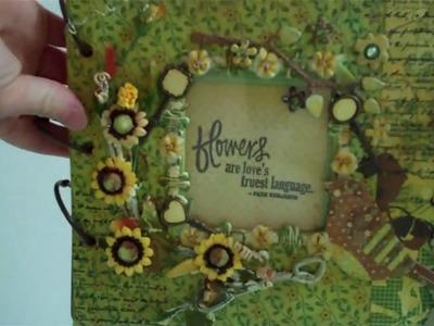 Origins Chipboard Mini Album by Melissa Samuels