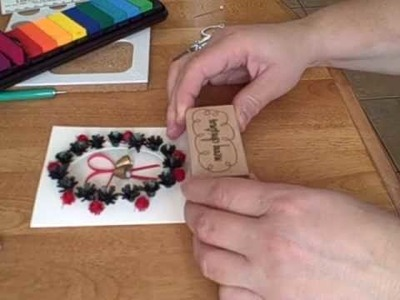 Quilling with Yoyomax12: QUILLED BELLS IN A CUT OUT CARD