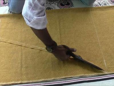 Salwaar Kameez Tutorial Part 2 Salwaar Cutting