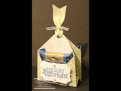 Stampin' Up! Ghirardelli Chocolate Pouch Tutorial