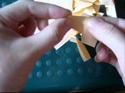 3Dorigami- how to fold triangles FAST!!!!