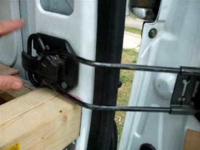 5. How to self build a campervan; Bed construction and lowering of the spare tyre.