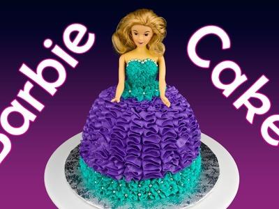 Barbie Cake. Princess Cake: How to Make a Barbie Cake by Cookies Cupcakes and Cardio
