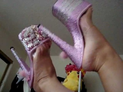 Bling Shield Hello Kitty Barbie Shoes + OOTN