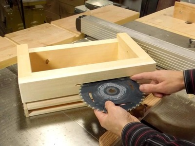 Building the box joint jig part 3 of 4